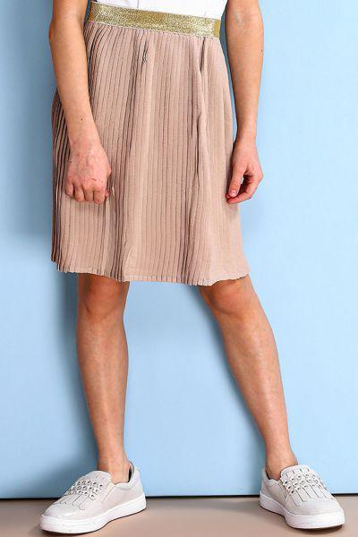 юбка y-clu' для девочки, бежевая