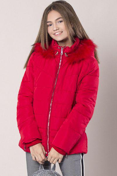 Купить Куртка, To Be Too, Красный, Полиэстер-100%, Женский