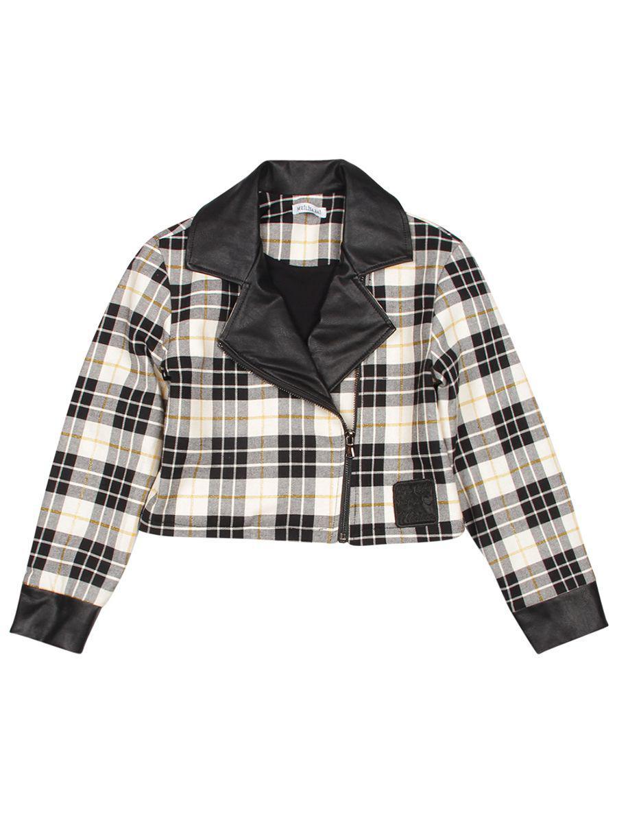 Купить Куртка, Meilisa Bai, Разноцветный, Хлопок-70%, Полиэстер-25%, Вискоза-3%, Эластан-2%, Женский