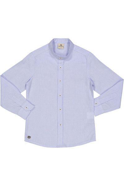 Купить Рубашка, Trybiritaly, Голубой, Хлопок-100%, Мужской