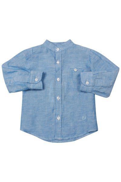 Купить Рубашка, Byblos, Голубой, Лиоцель-100%, Мужской