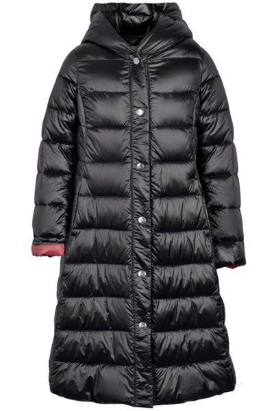 Купить Пальто, Silver Spoon, Черный, Нейлон-100%, Женский