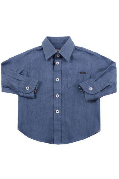 Купить Рубашка, Byblos, Синий, Хлопок-100%, Мужской