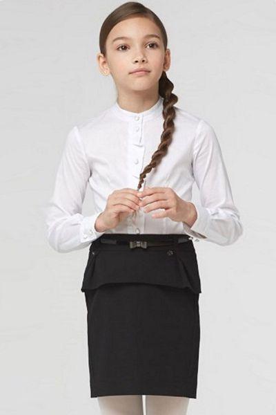 юбка silver spoon для девочки, черная
