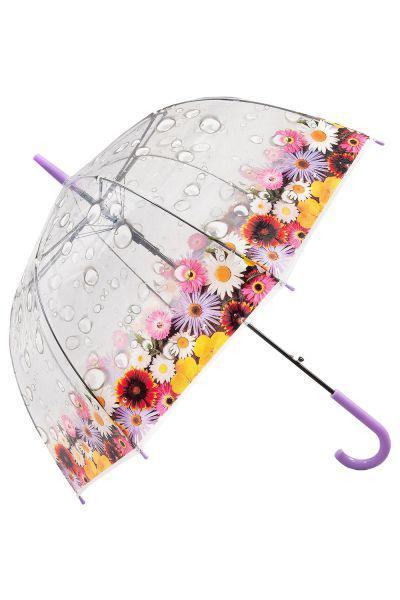 Купить Зонт, Raindrops, Фиолетовый, UNI, Женский