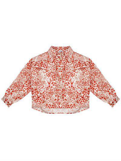 Купить Блуза, Gaialuna, Разноцветный, Полиэстер-100%, Женский