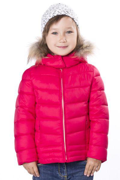 Куртка для девочки YB9376 красный Y-clu` белый, Китай (КНР)