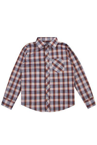 рубашка y-clu' для мальчика, серая