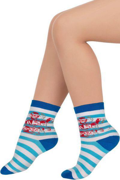 Носки для мальчика SNKP-14109 синий Charmante, Китай (КНР)