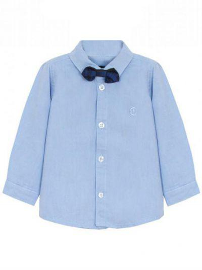 Купить Рубашка, Beba Kids, Голубой, Хлопок-100%, Мужской
