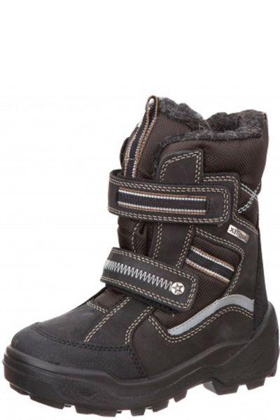 Сапоги Kapika Ботинки для мальчика 42072-1 чёрный, Российская Федерация