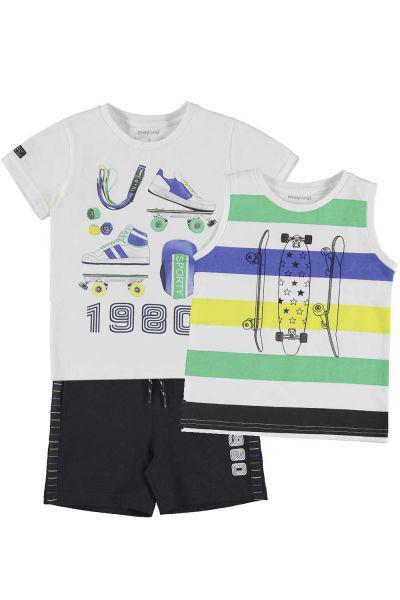 Футболка+майка+шорты