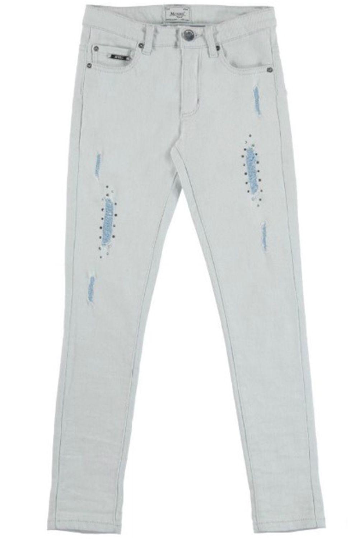 брюки mayoral для девочки, голубые
