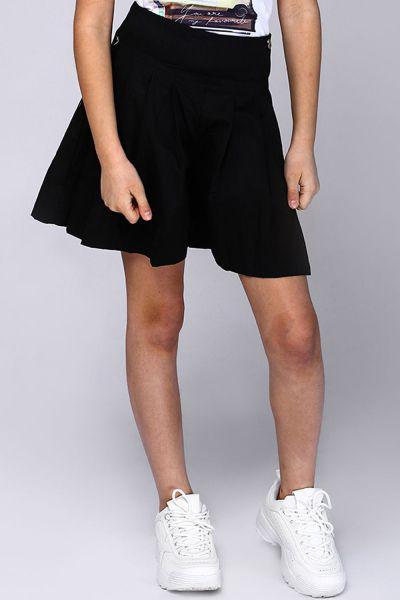 юбка gaialuna для девочки, черная
