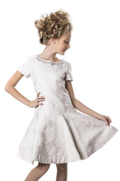 Купить Платье, Noble People, Белый, Полиэстер-100%, Женский