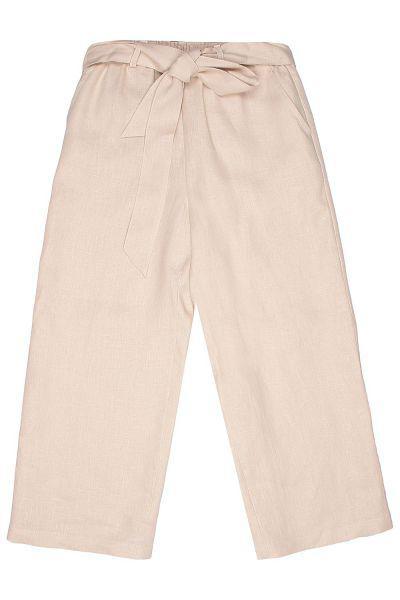 брюки gaudi для девочки, коричневые