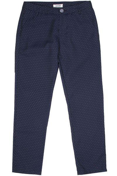 брюки gaudi для девочки, синие