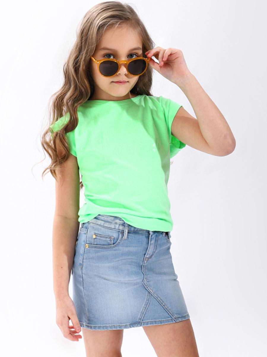 топ vingino для девочки, зеленый