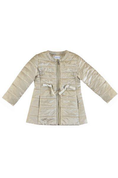 Купить Куртка, Mayoral, Желтый, Полиэстер-57%, Полиамид-43%, Женский