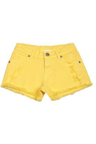 шорты gaudi для девочки, желтые