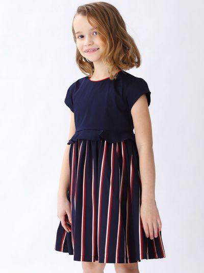 платье manila grace для девочки, разноцветное