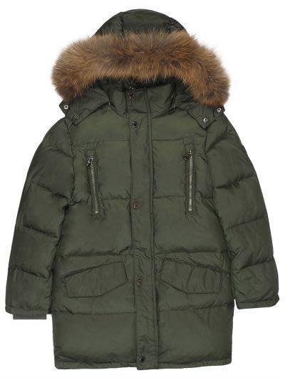 Купить Куртка, Les Trois Vallees, Зеленый, Полиэстер-64%, Нейлон-36%, Мужской