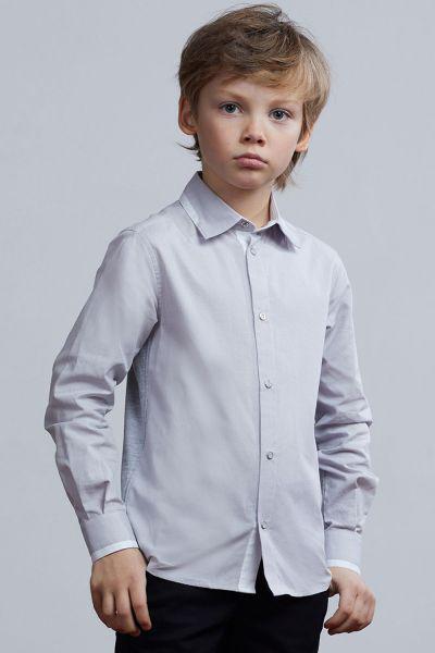 Купить Рубашка, Silver Spoon, Серый, Хлопок-100%, Мужской