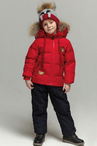 Купить Куртка+полукомбинезон18601-193, Noble People, Красный, Полиэстер-100%, Мужской