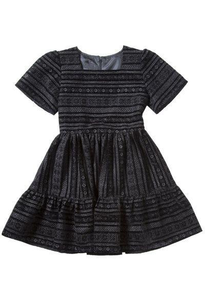 Купить Платье, Gaialuna, Черный, Полиэстер-100%, Женский