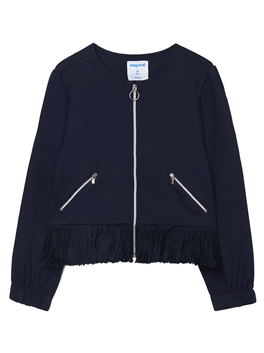 пиджак mayoral для девочки, синий