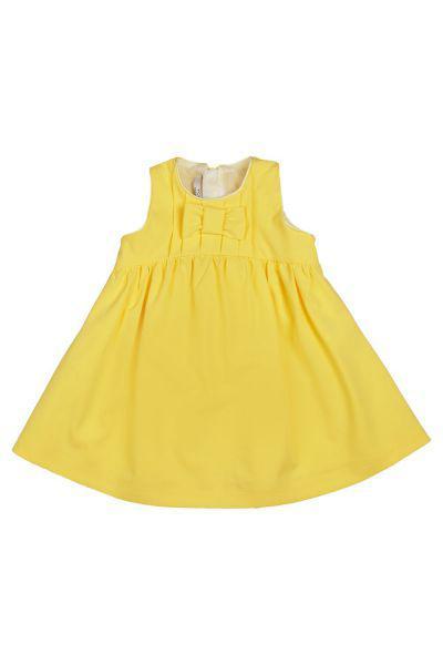 Купить Платье, Y-clu', Желтый, Хлопок-100%, Женский