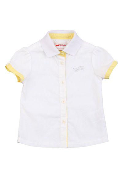 рубашка gas для мальчика, белая