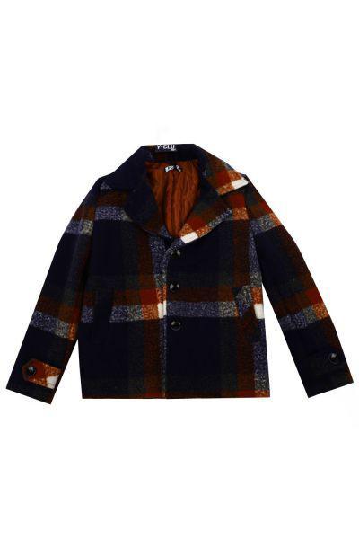 Купить Пальто, Y-clu', Разноцветный, Полиэстер-100%, Мужской