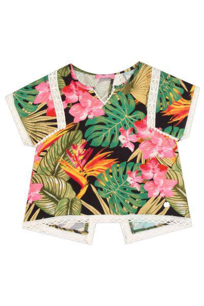 Купить Блуза, Gaudi, Разноцветный, Вискоза-100%, Женский