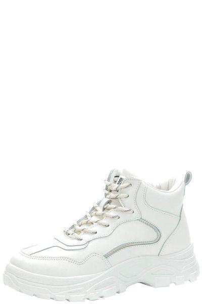 Купить Ботинки, Crosby, Белый, Кожа искусственная-100%, Женский
