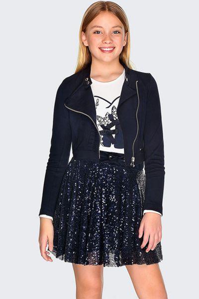 юбка mayoral для девочки, синяя
