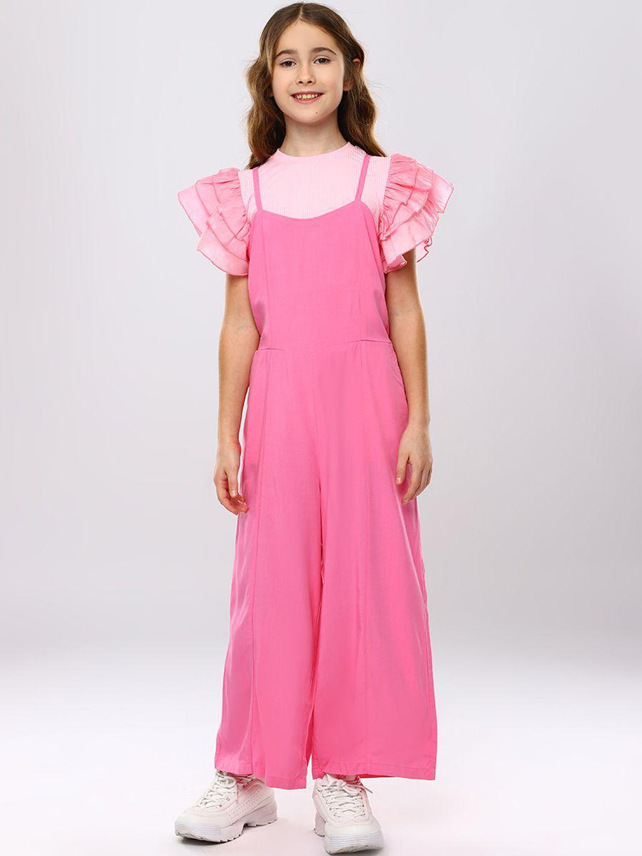 комбинезон to be too для девочки, розовый