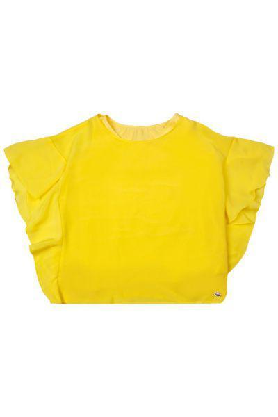 Блуза+топ, Byblos, Желтый, Полиэстер-100%, Женский  - купить со скидкой
