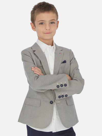 пиджак mayoral для мальчика, бежевый