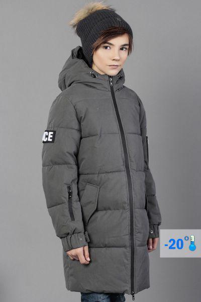 Купить Пальто, Noble People, Серый, Хлопок-65%, Полиамид-35%, Мужской