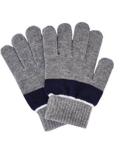 перчатки mayoral для мальчика, серые
