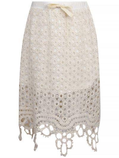юбка gaialuna для девочки, бежевая