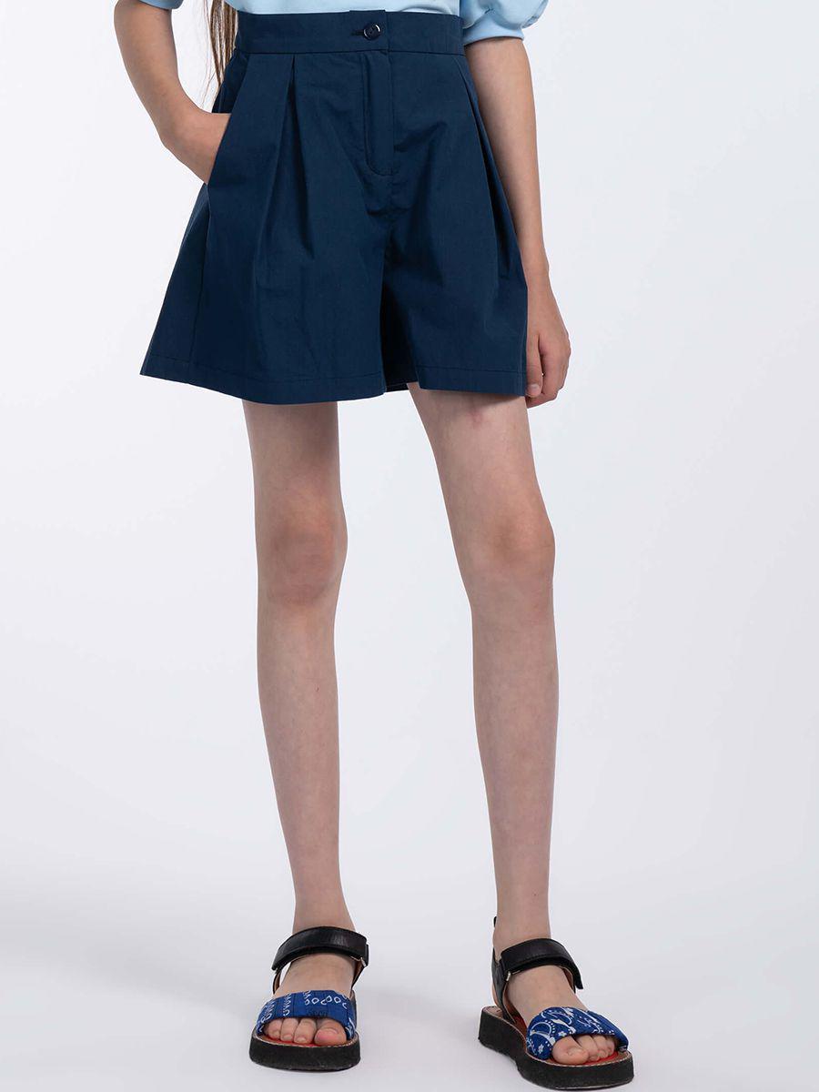 шорты смена для девочки, синие