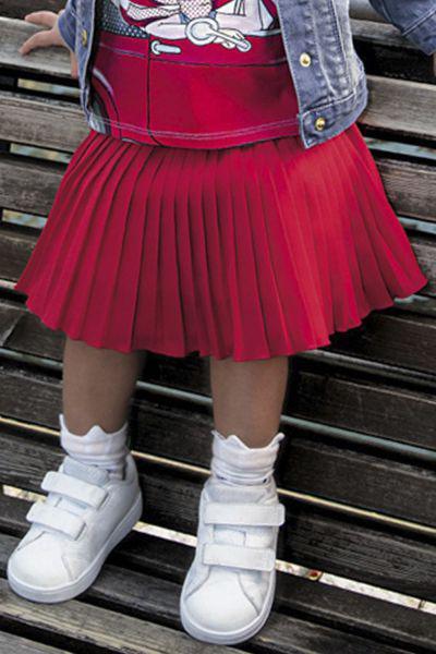 юбка trybiritaly для девочки, красная