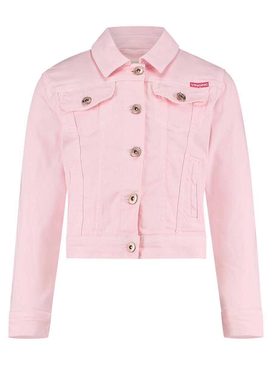 Купить Куртка, Vingino, Розовый, Хлопок-98%, Эластан-2%, Женский