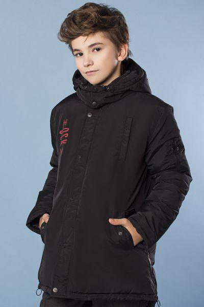 Купить Куртка, Y-clu', Черный, Полиэстер-100%, Мужской