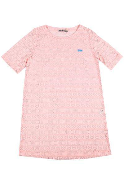 туника noble people для девочки, розовая