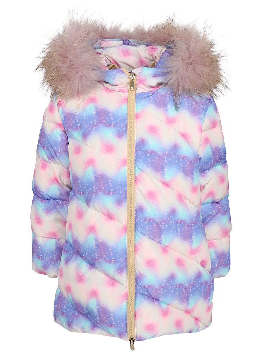 пальто noble people для девочки, бежевое