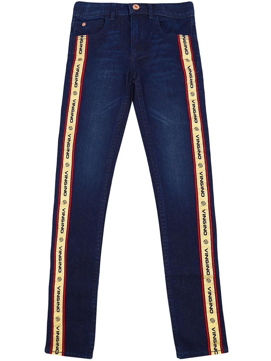 джинсы vingino для девочки, синие