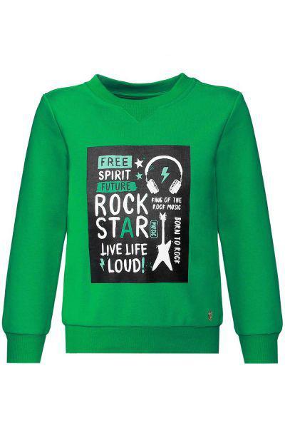 Купить Пуловер, Stefania, Зеленый, Хлопок-85%, Полиэстер-15%, Мужской